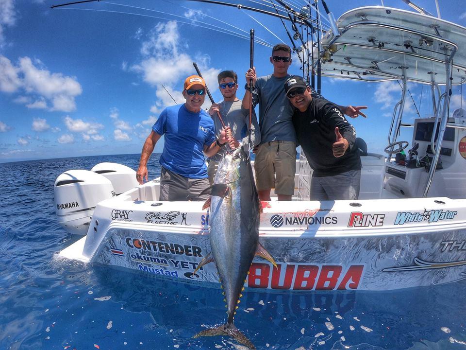 fishing tuna offshore