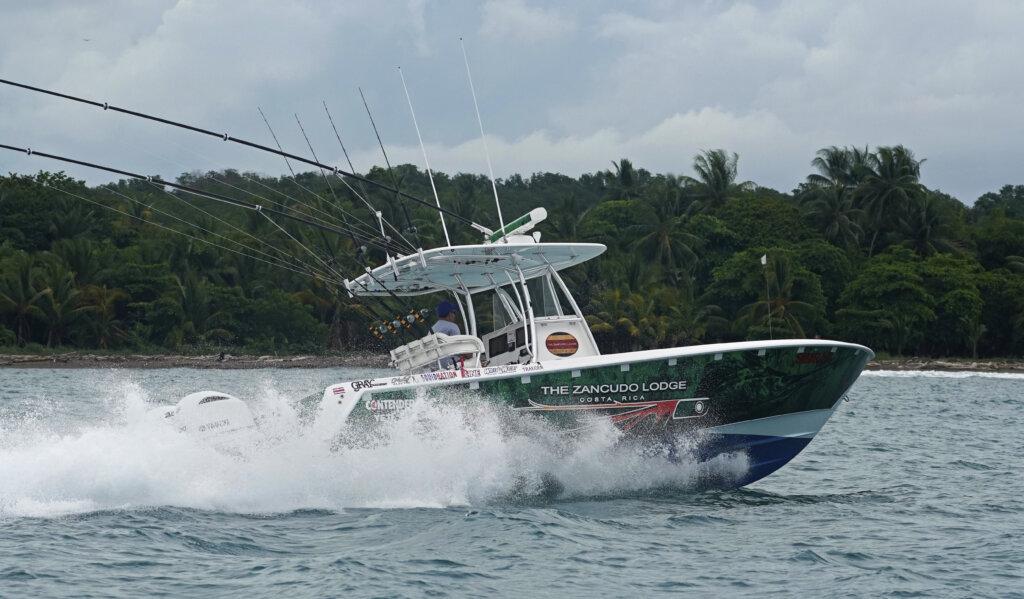 Contender ready to do battle inshore costa rica