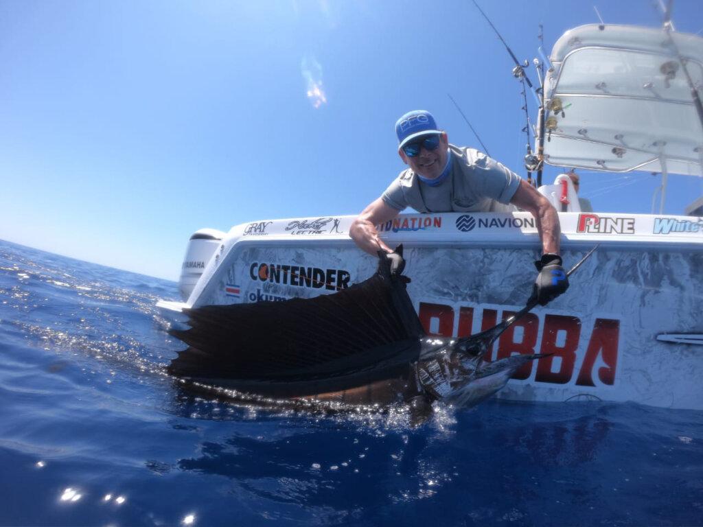 Costa Rica offshore fishing for sailfish